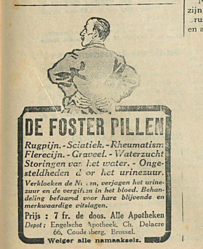 DE FOSTER PILLEN