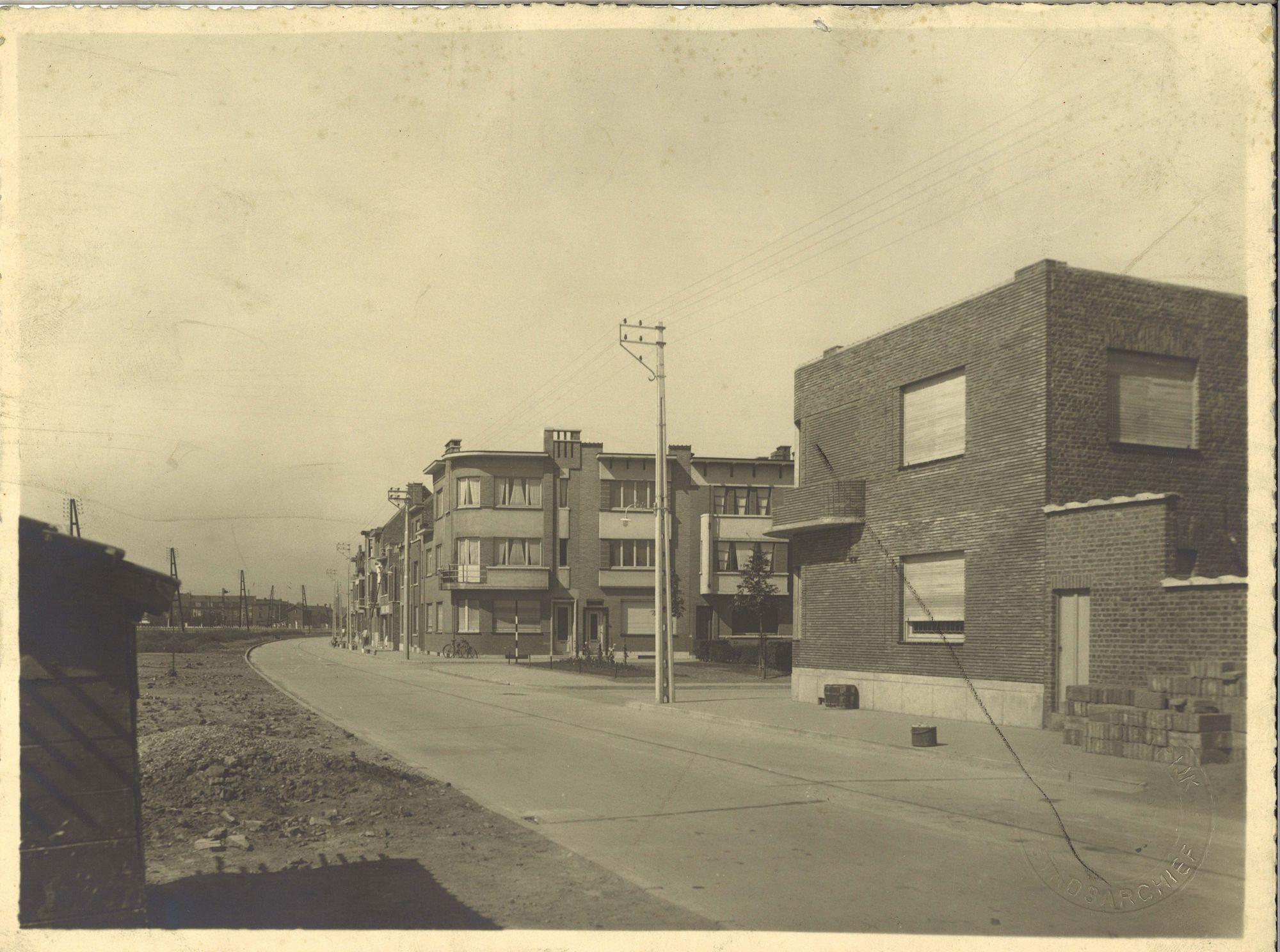 Kortrijk, straten 1940