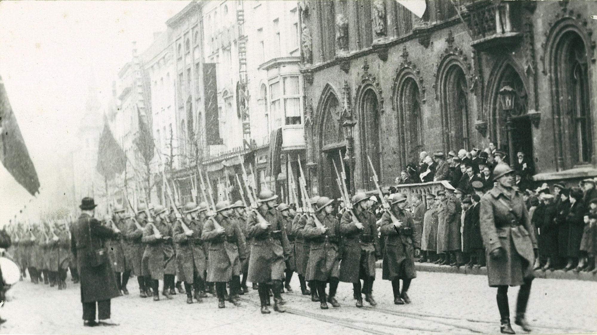 Grote Markt in 1939