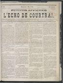 L'echo De Courtrai 1870-05-01
