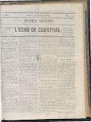 L'echo De Courtrai 1864-09-16
