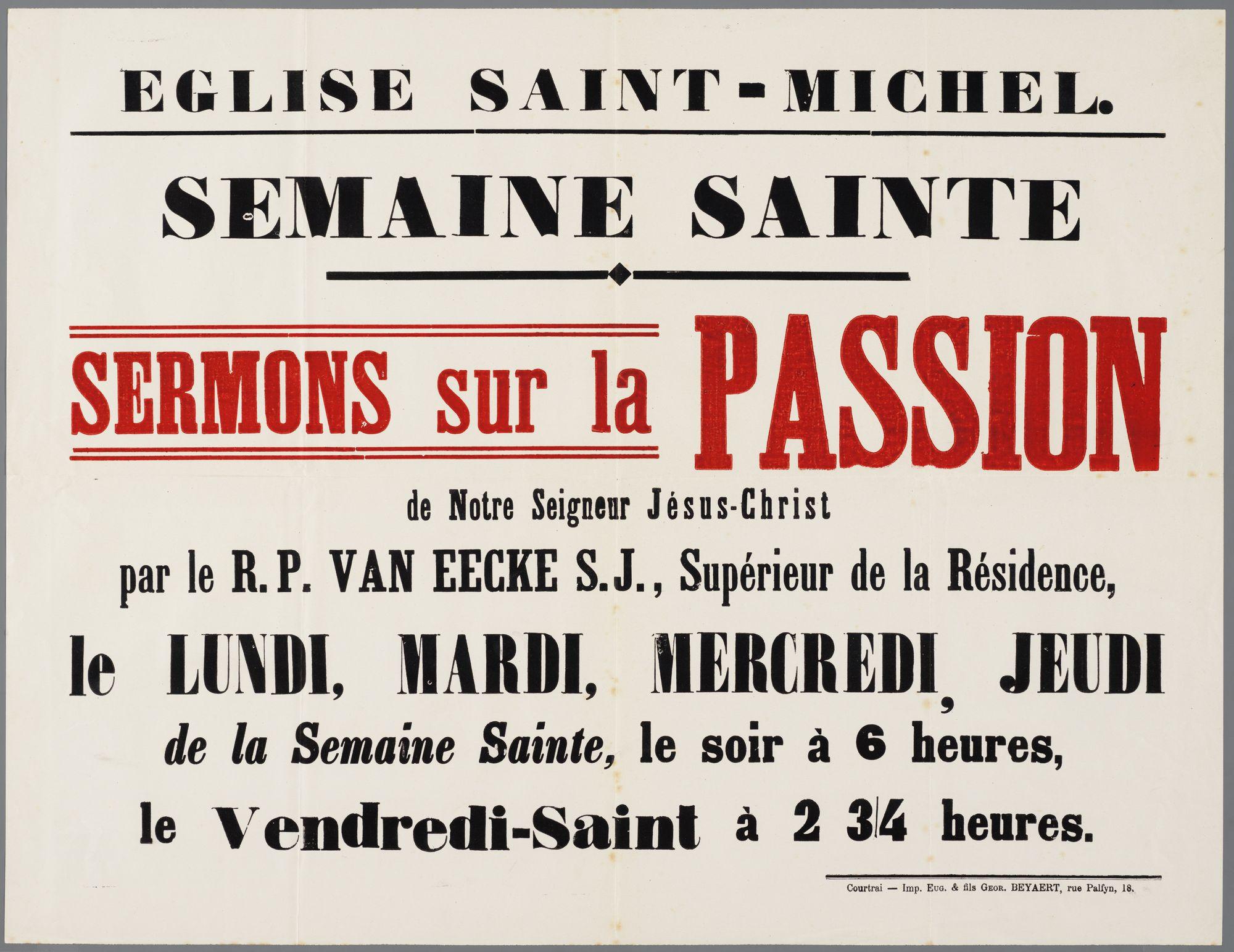 Plechtigheden Sint-Michielskerk