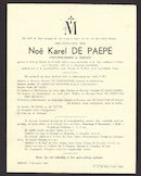 Noë Karel De Paepe