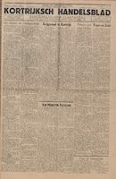 Kortrijksch Handelsblad 15 oktober 1946 Nr83 p1