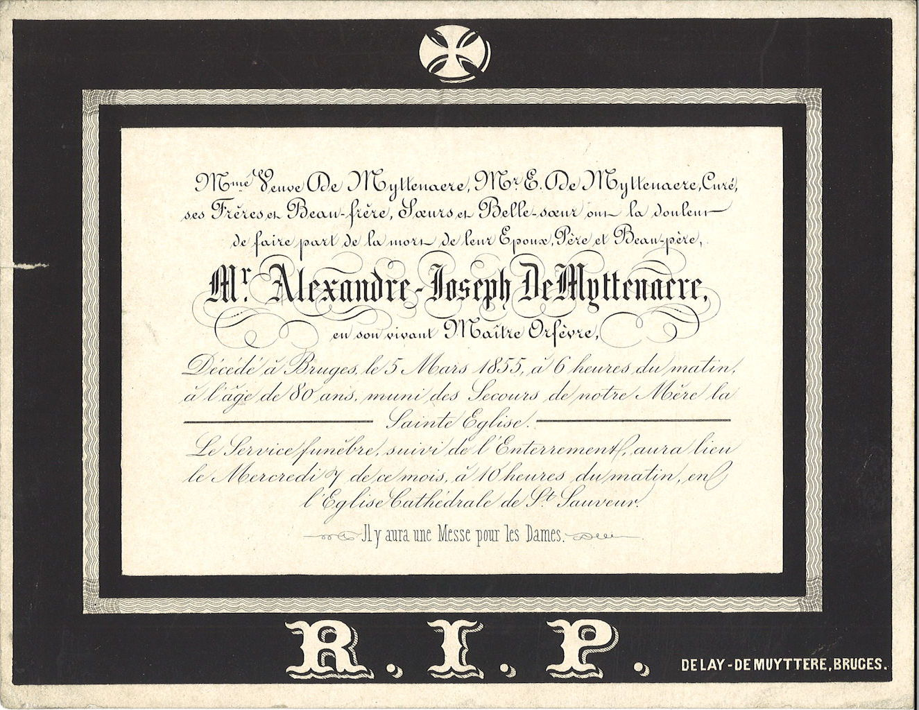 Alexandre-Joseph De Myttenaere