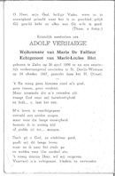 Adolf Verhaege