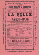 "Paasfoor 1905: operette ""La fille du Tambour-Major"""
