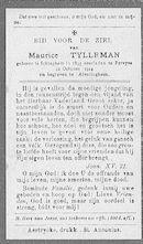 Maurice Tylleman