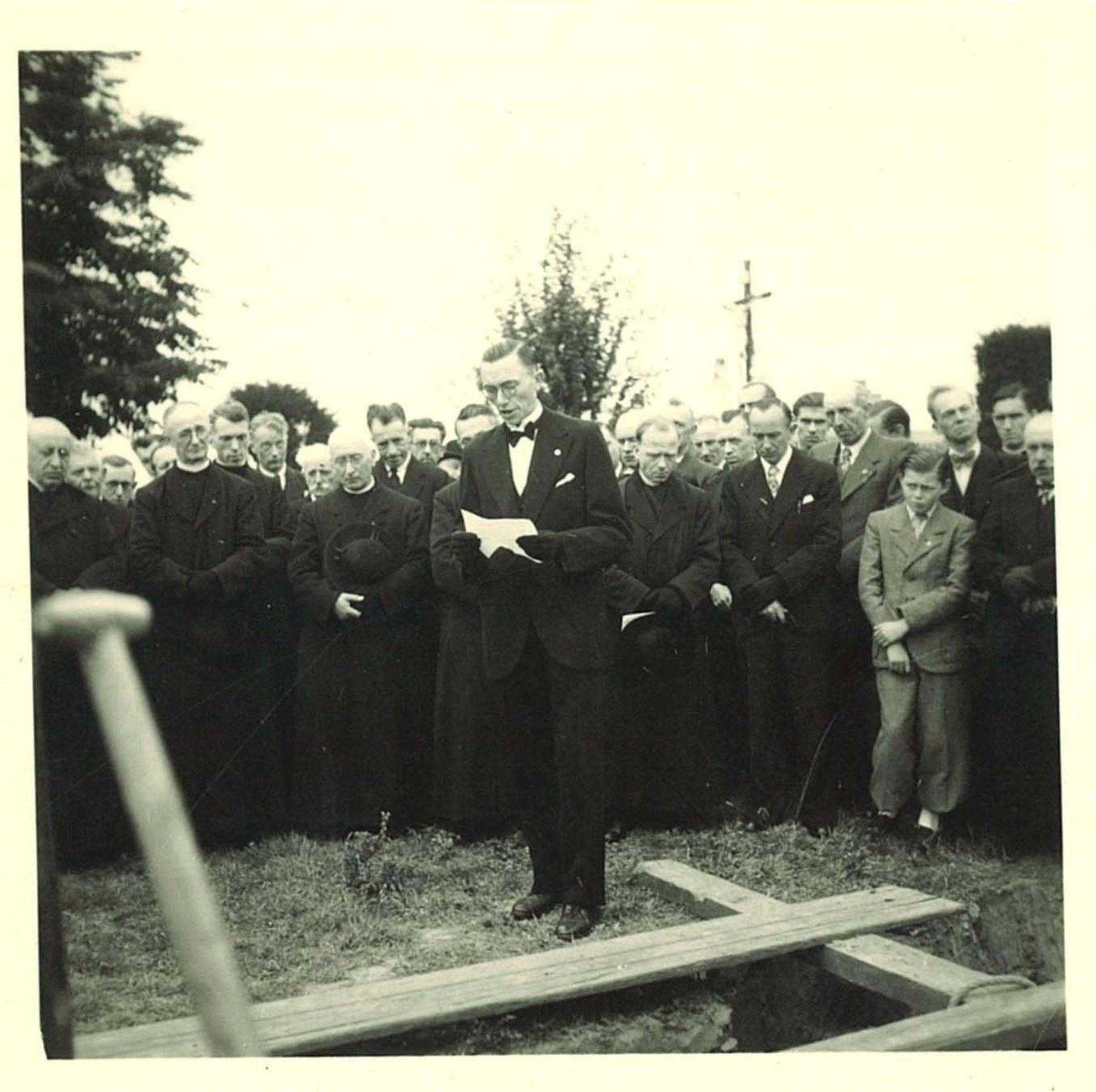 Begrafenis broeder Daniël Viaene