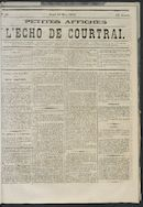 L'echo De Courtrai 1873-03-13