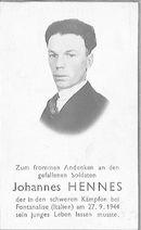 Johannes Hennes