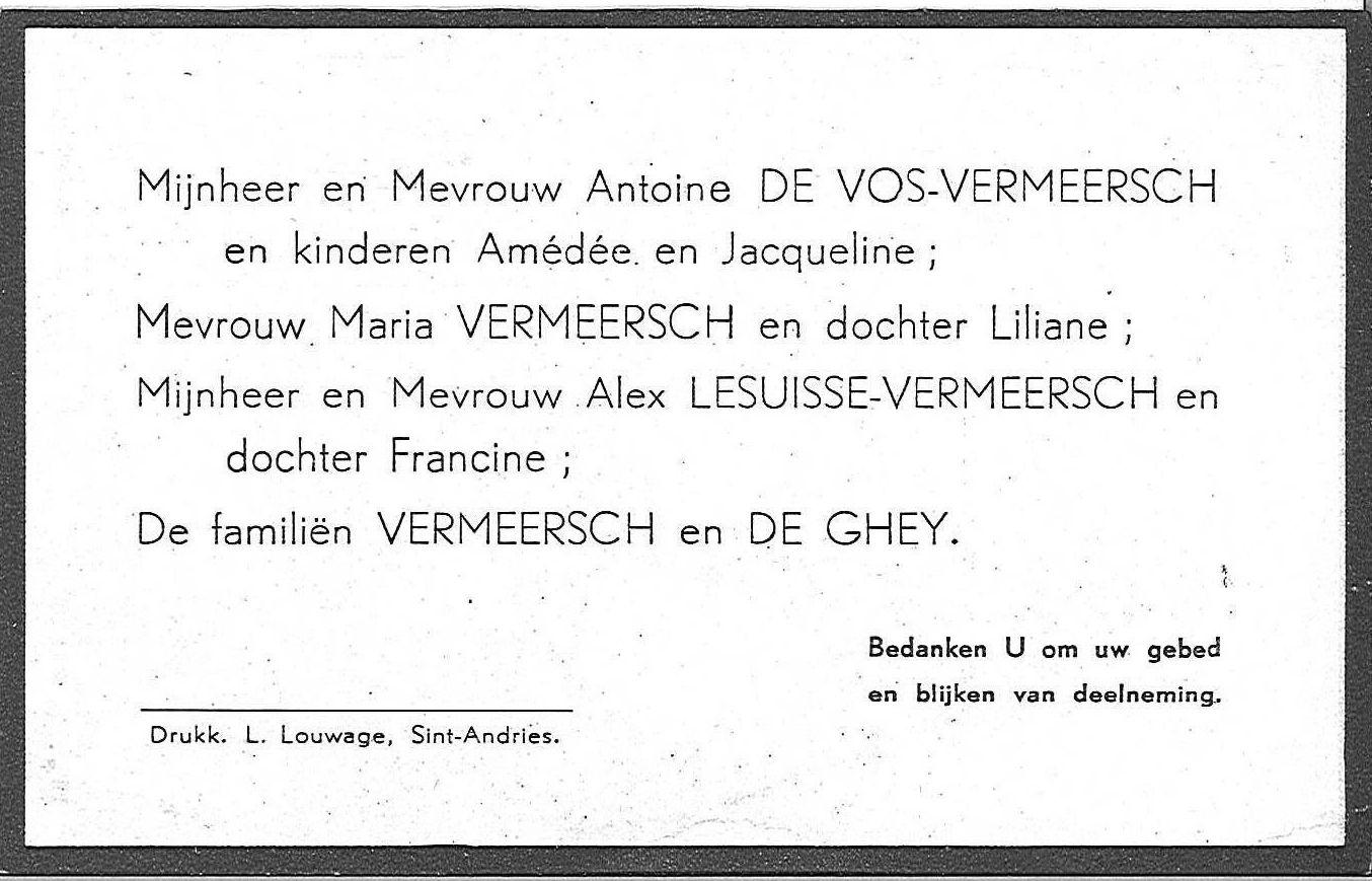 Amédée Vermeersch