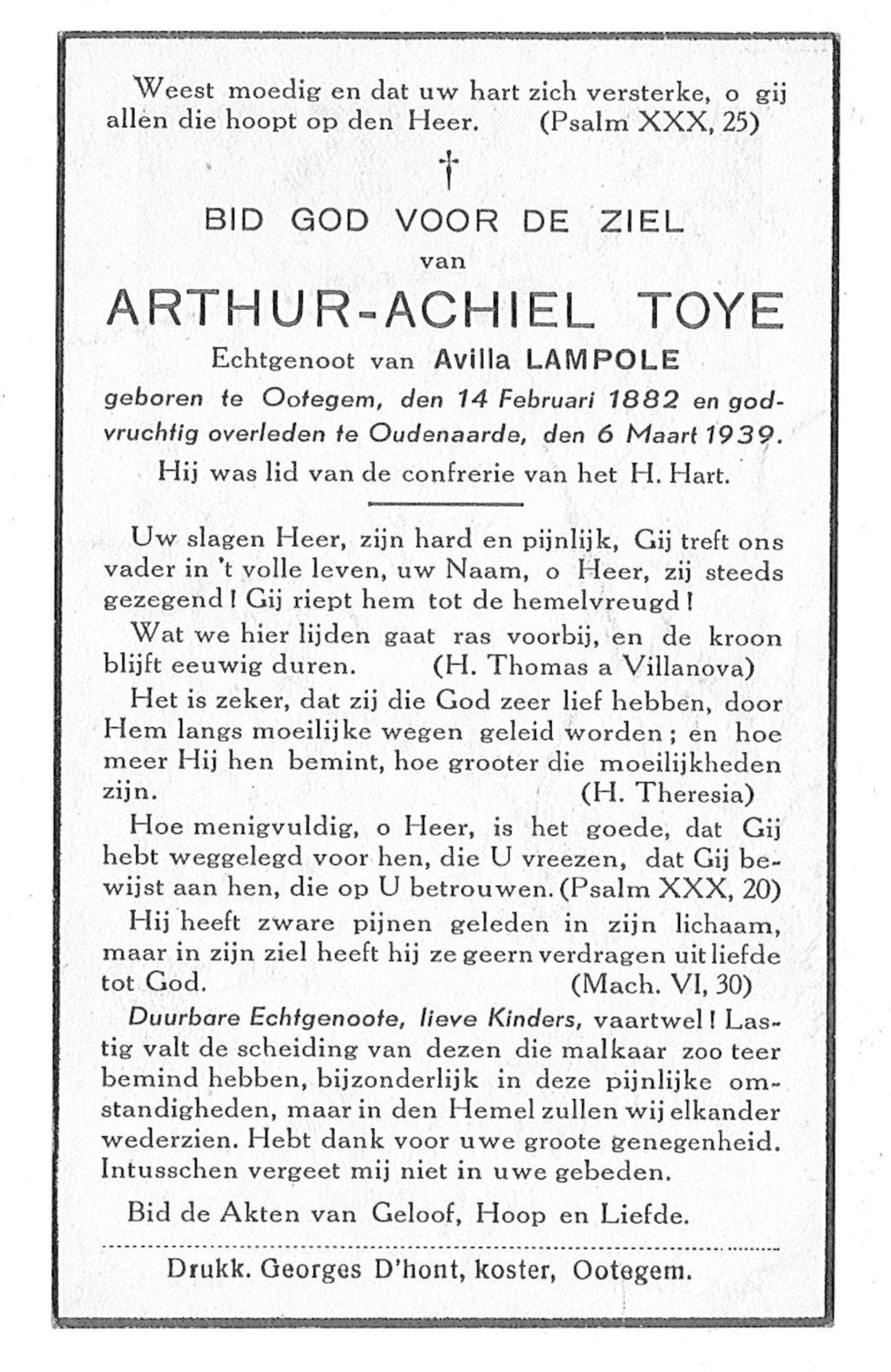 Arthur-Achiel Toye