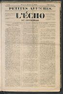 L'echo De Courtrai 1849-01-21