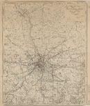 Westflandrica - Ieper, plan van het waterleidingnet
