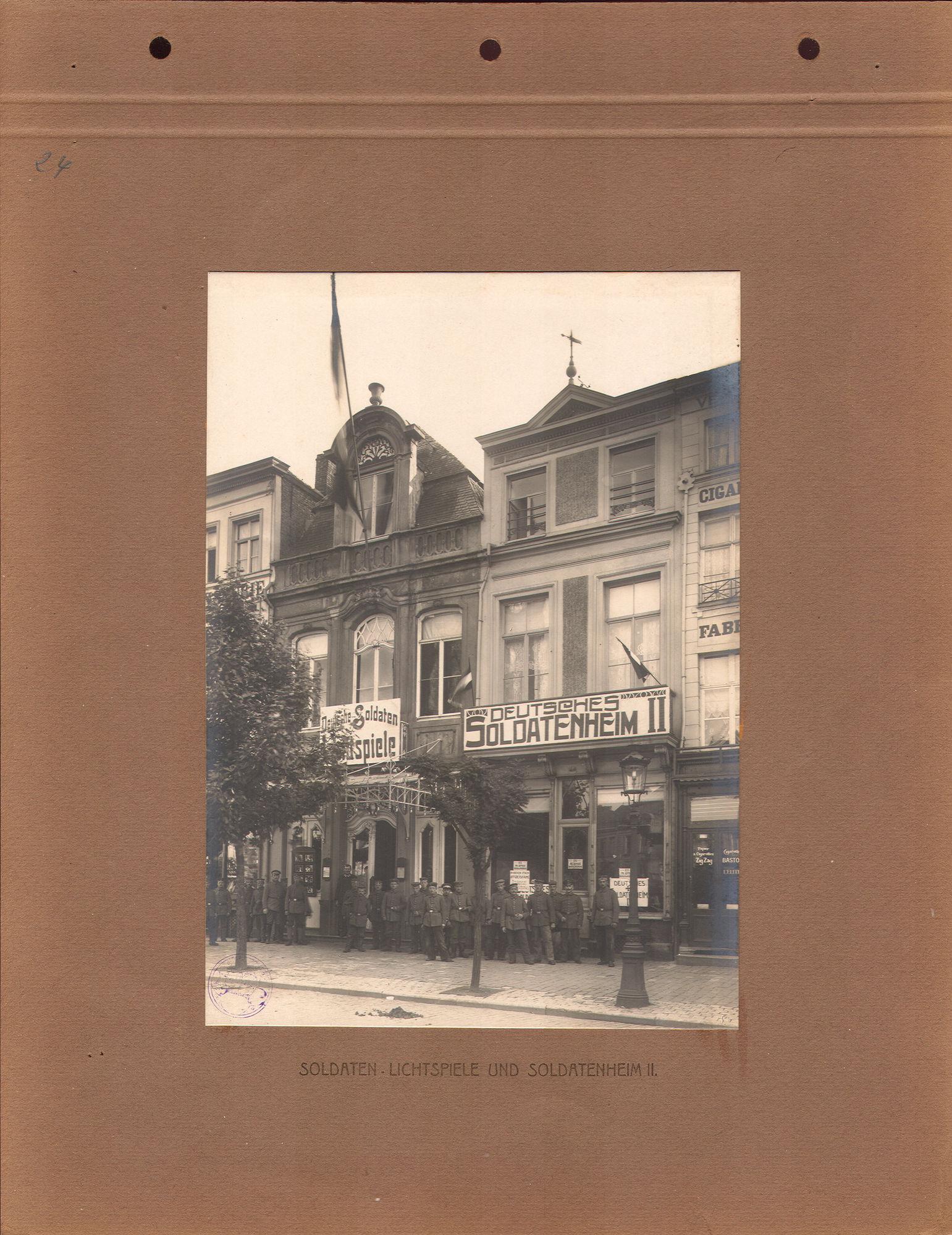 Soldatenheim in 1916