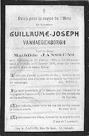 Vanhaegenborgh Guillaume-Joseph