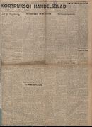 Kortrijksch Handelsblad 6 september 1946 Nr71 p1