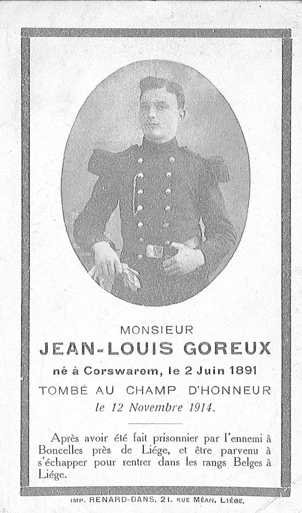 Jean-Louis Goreux
