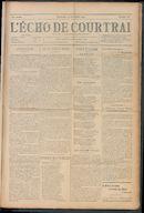 L'echo De Courtrai 1910-11-13