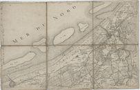 Westflandrica - Kaart van de Noordzeekust