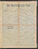 Het Kortrijksche Volk 1925-01-18 p1