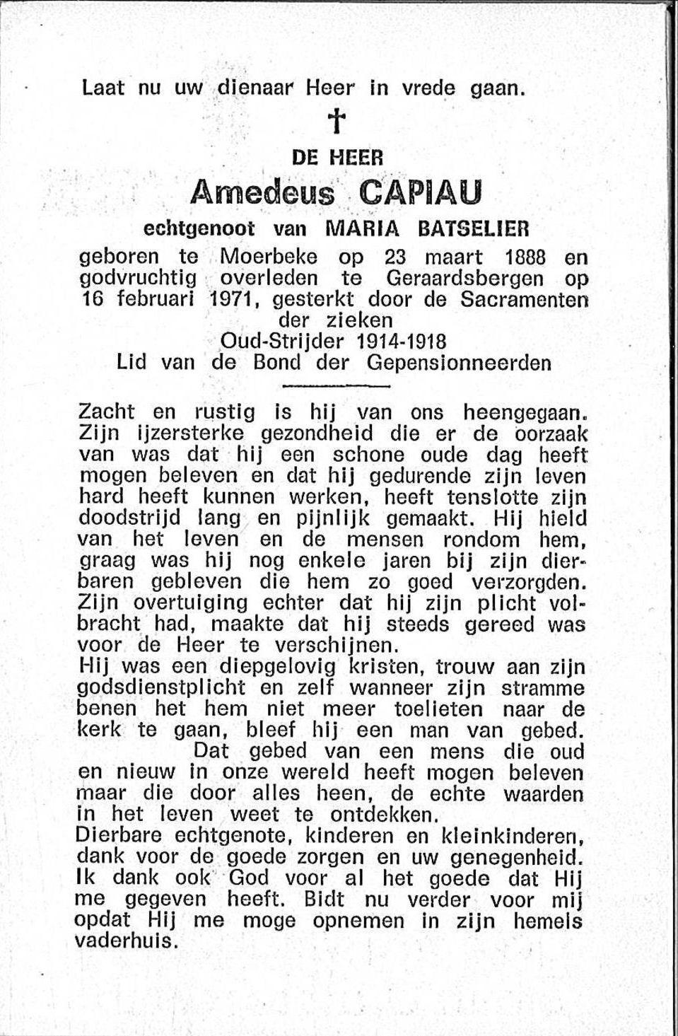 Amedeus Capiau