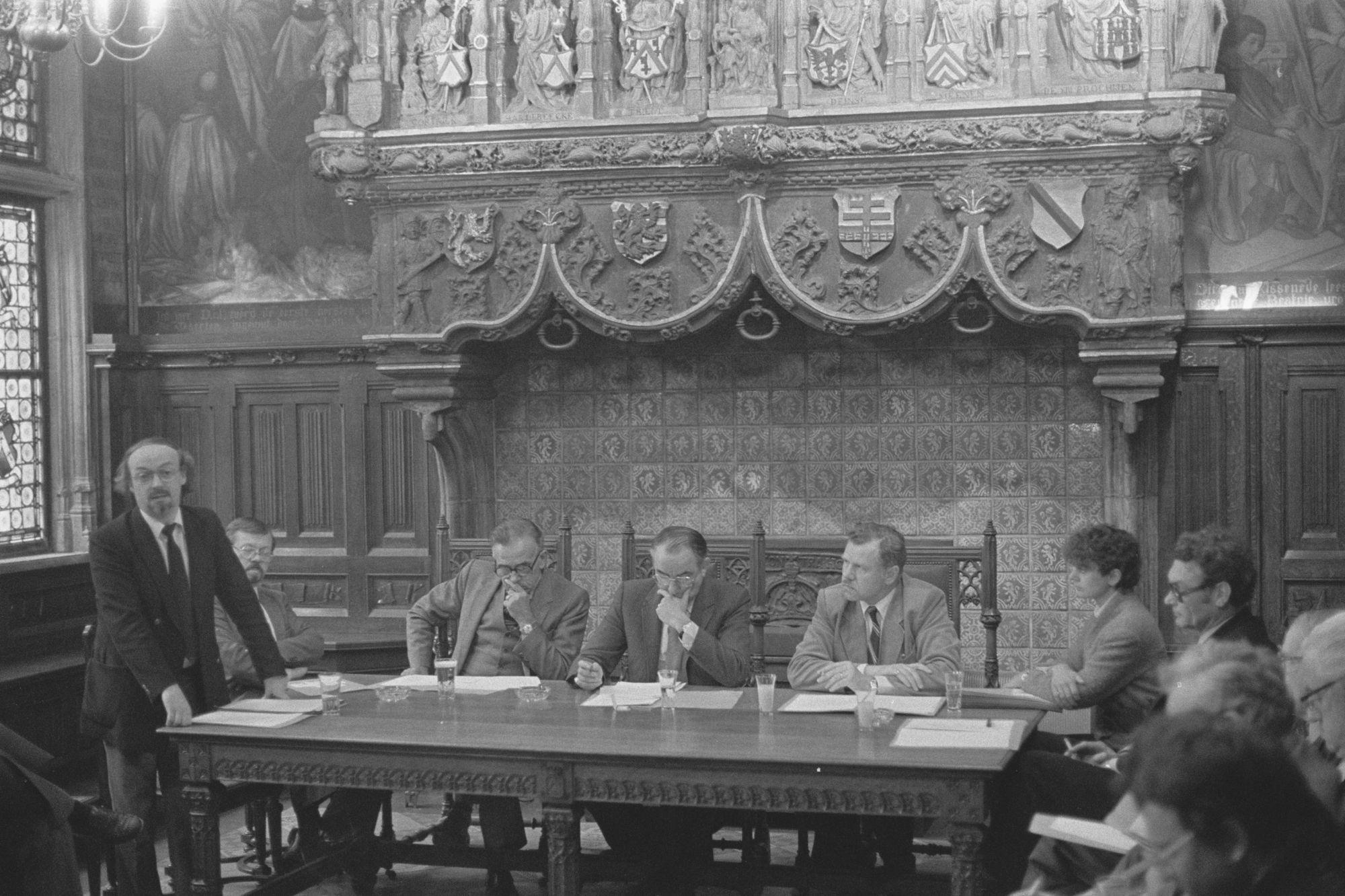 Vergadering van het inrichtend comité van de Sinksenfeesten