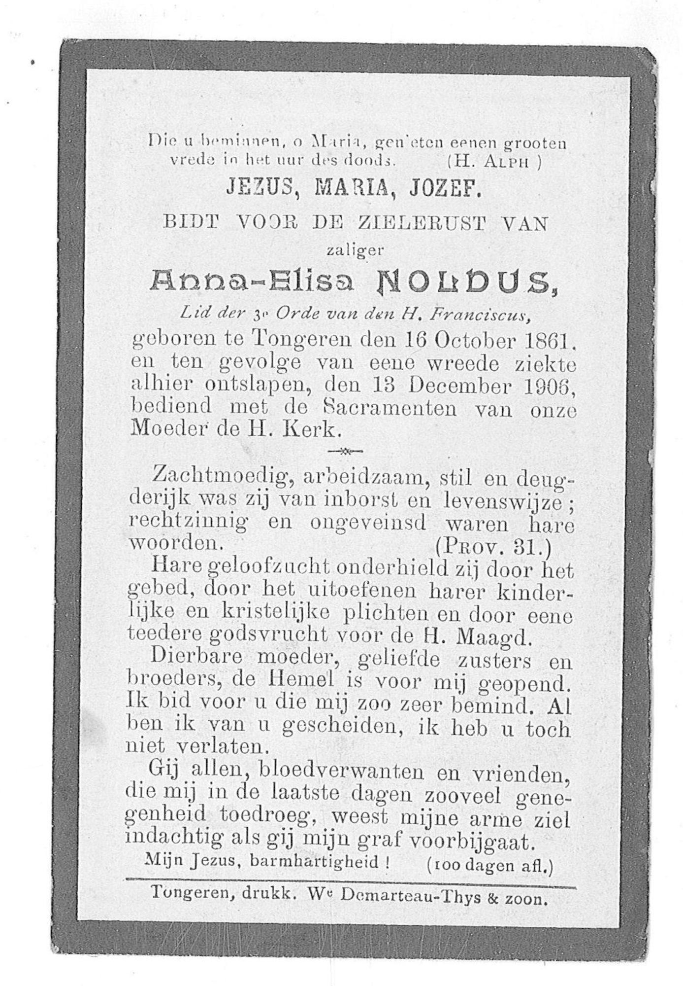 Anna-Elisa Noldus
