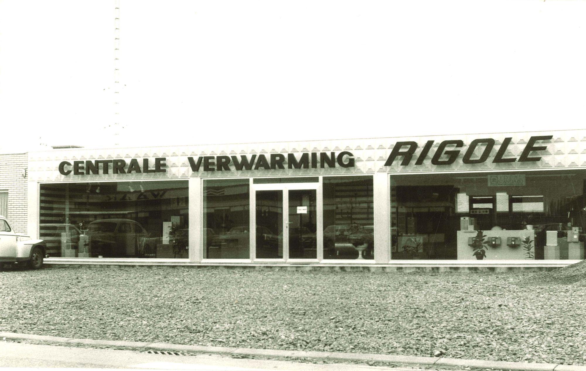Centrale Verwarming Rigole 1975