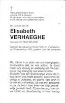 Elisabeth Verhaeghe