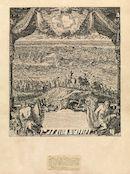 Westflandrica - Ieper, zicht op de stad tijdens de belegeringen van 25 maart 1678