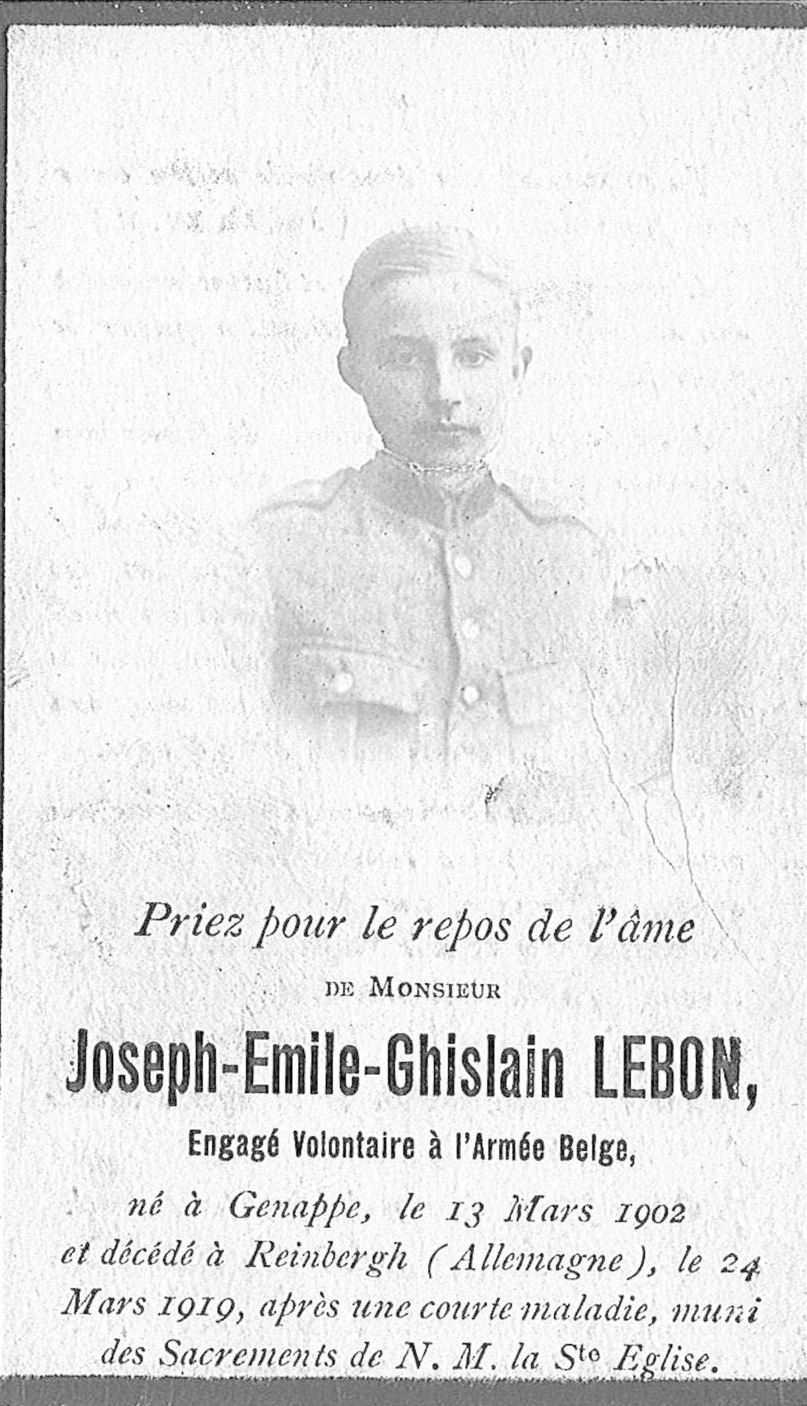 Joseph-Emile-Ghislain Lebon