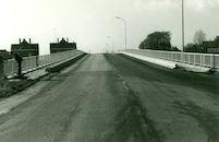 Sint Denijsbrug over het kanaal Bossuit-Kortrijk te Moen 1981