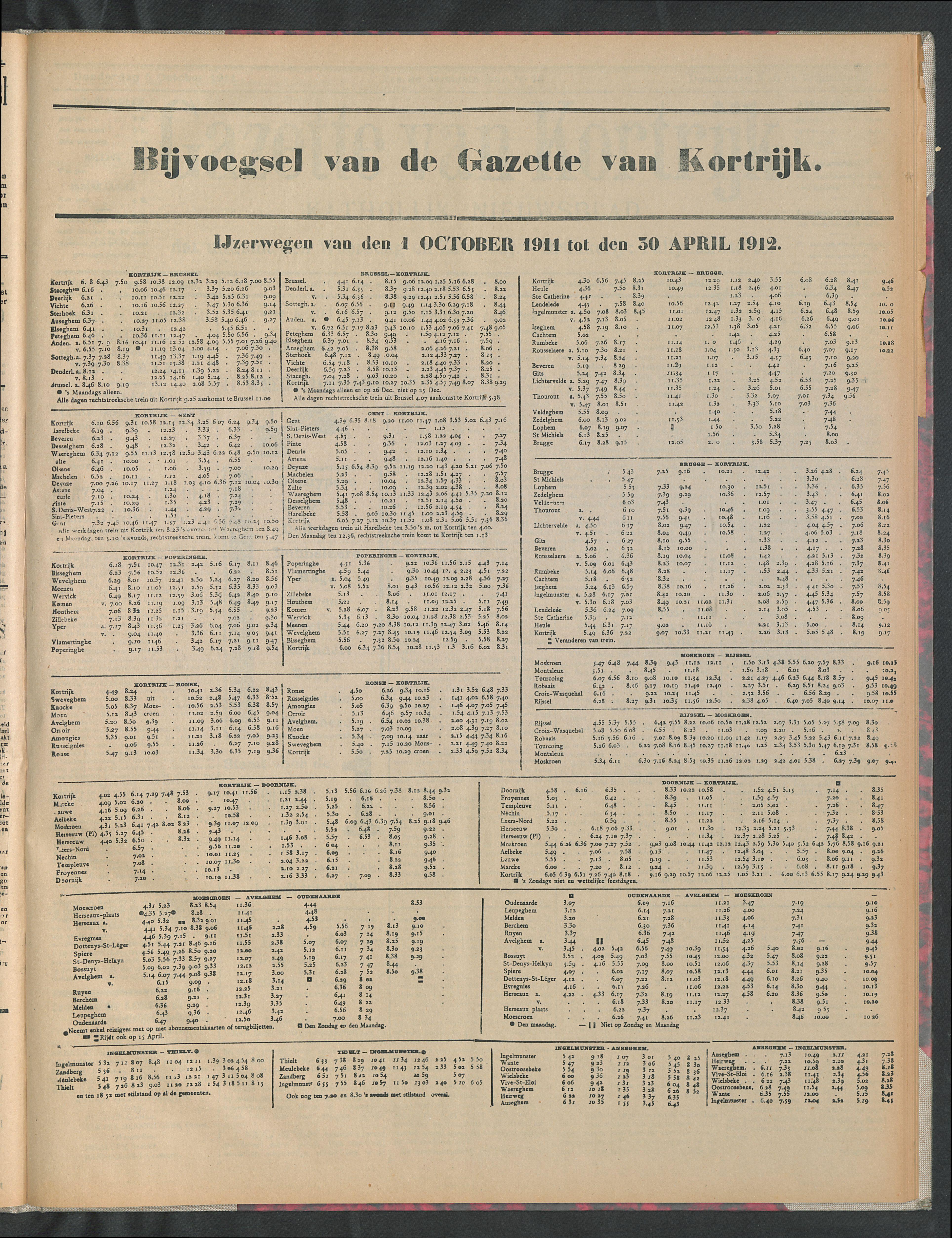 Gazette Van Kortrijk 1911-10-01 p5
