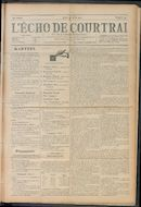 L'echo De Courtrai 1910-04-28