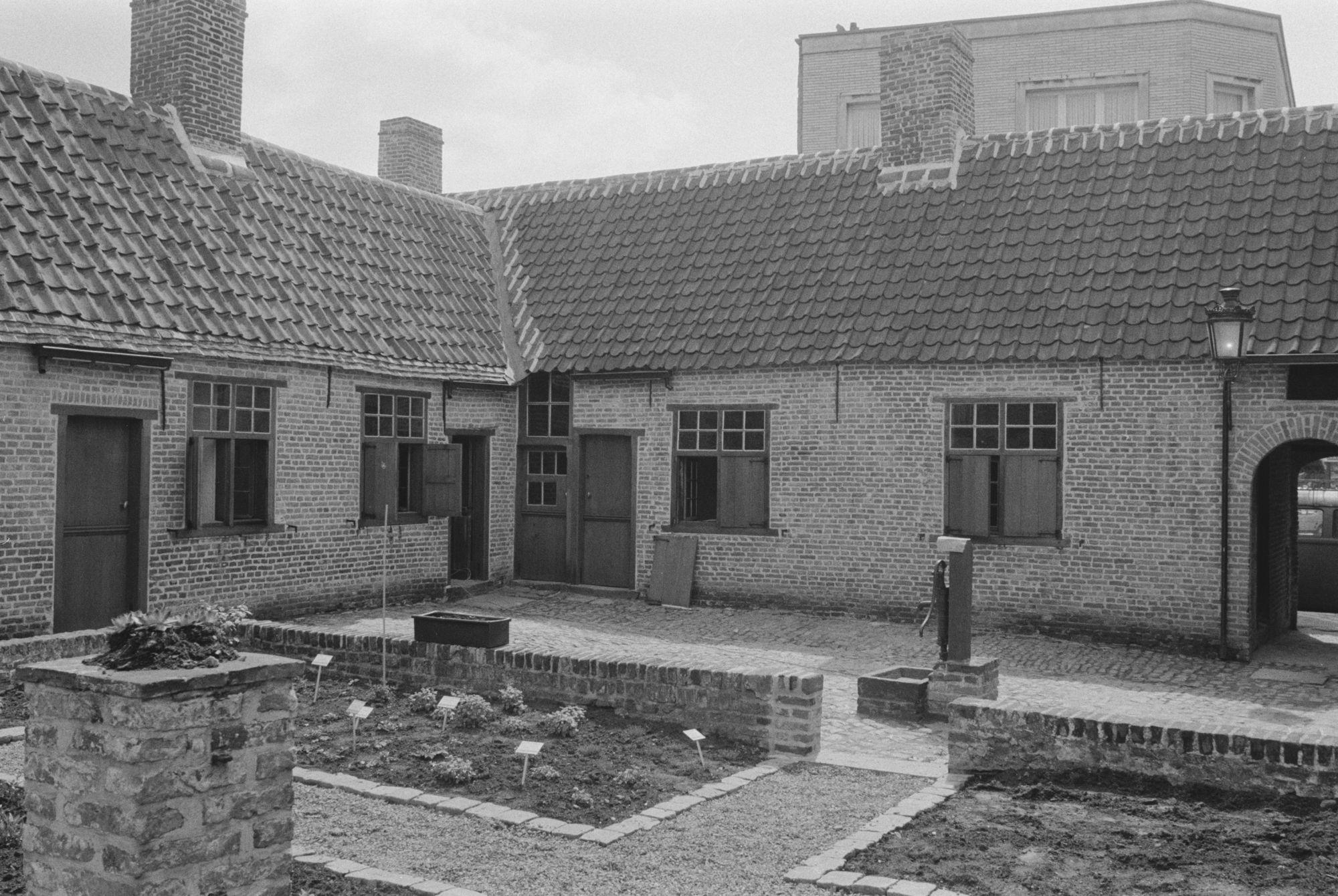 Baggaertshof in de Sint-jansstraat 1981
