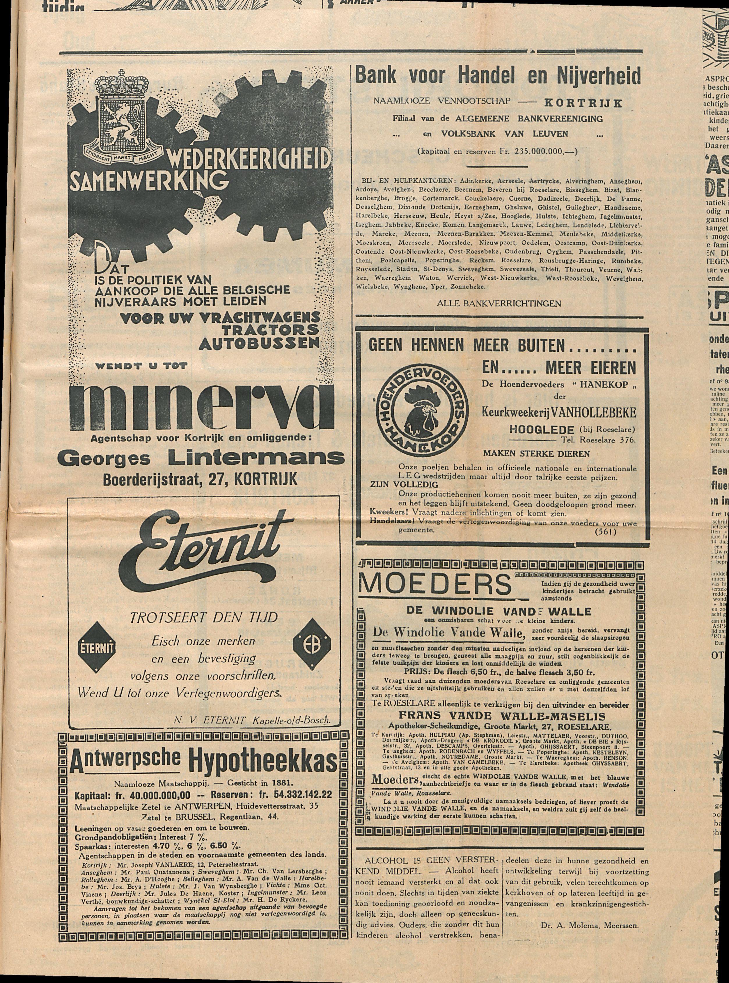 Het Kortrijksche Volk 1929-12-22 p3