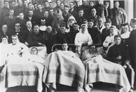 Albums Ghyoot 1_001 militair hospitaal Sint-Niklaasinstituut 1940