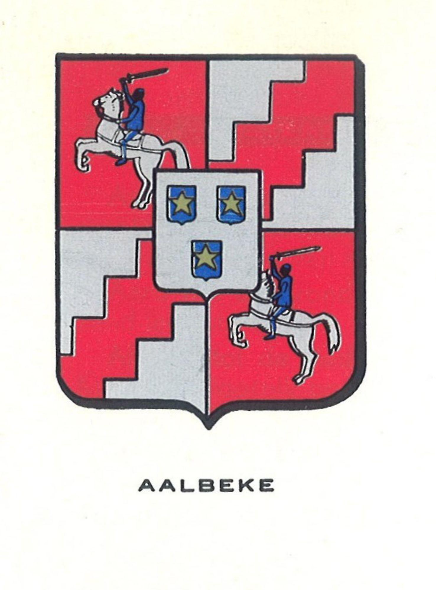 Wapenschild van Aalbeke