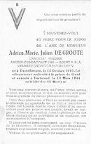 Adrien Marie Julien De Groote