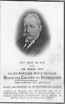 Julien-Narcisse-Marie-Ghislain Baron van Caloen de Basseghem.