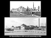 Nijverheidskaai in 1863 en 1894