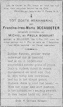 Decabooter Francine-Irma-Maria