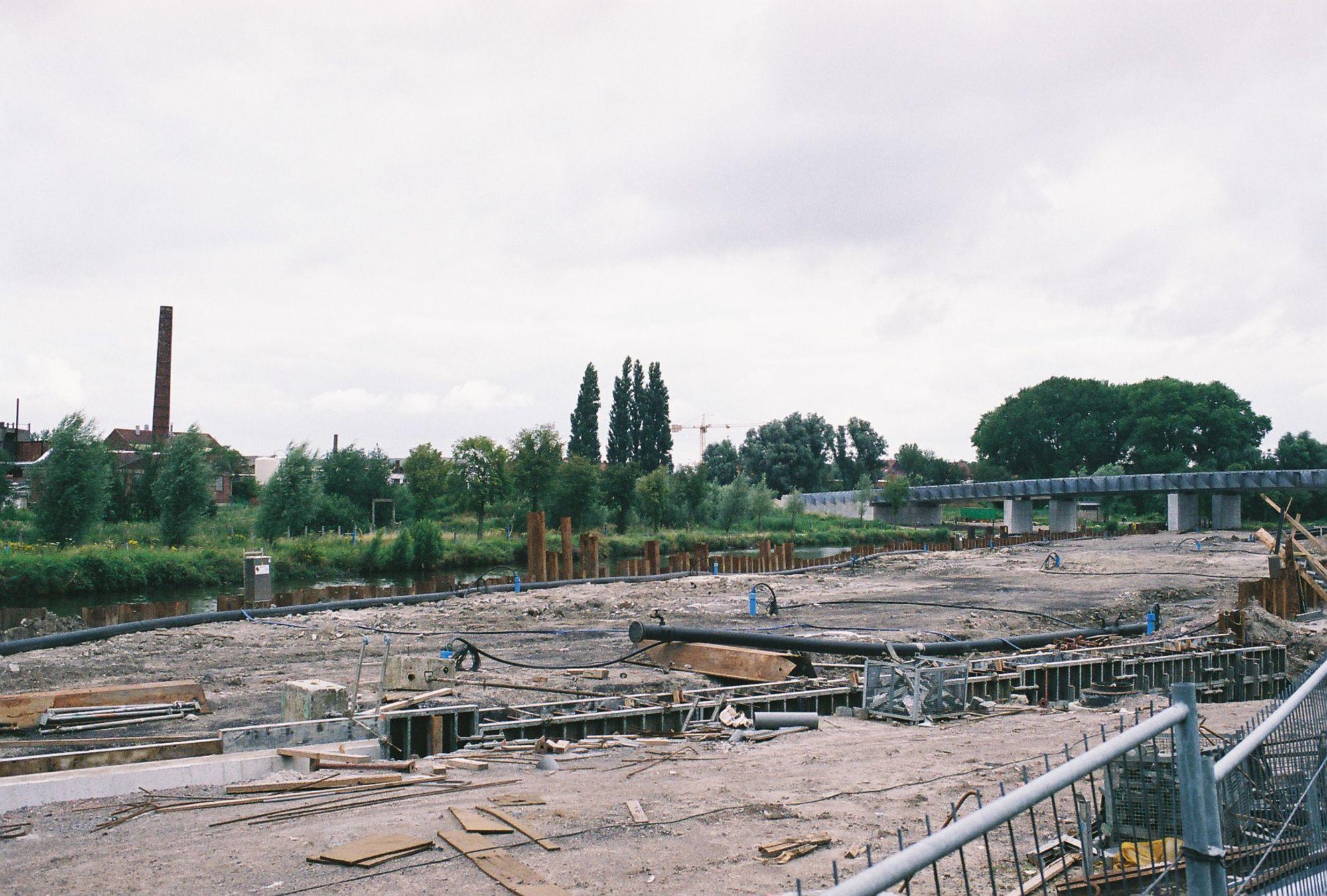 De Leie in 2005