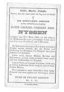 Alfred-François-Toussaint-Marie Nyssen