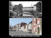 Kleine Leie en Dam 1890 en 2009