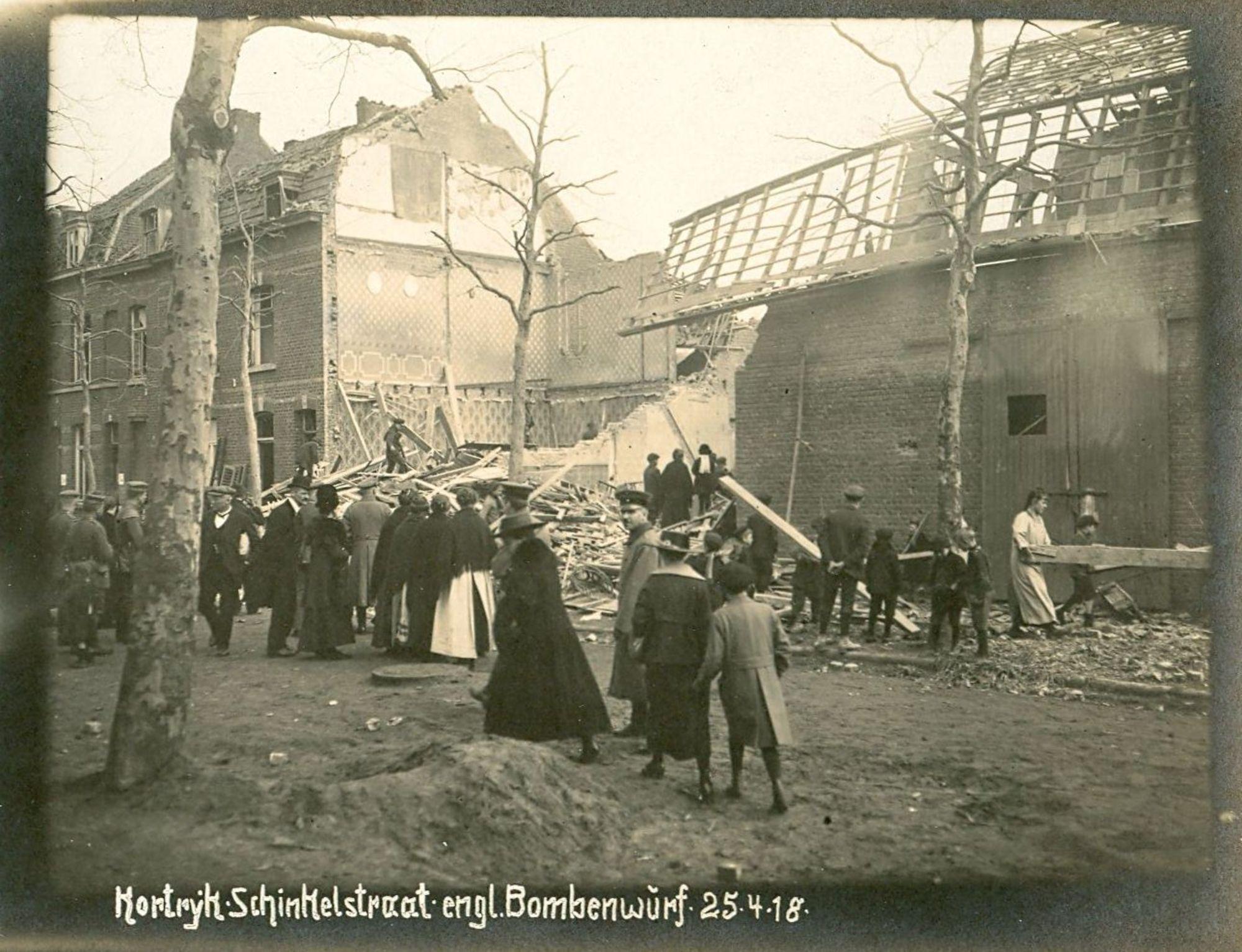 Burgemeester Schinkelstraat in 1918