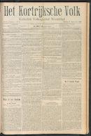 Het Kortrijksche Volk 1910-09-11