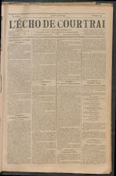 L'echo De Courtrai 1892-08-11